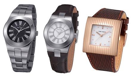 Relógio feminino Time Force disponível em 6 modelos diferentes desde 29,99€