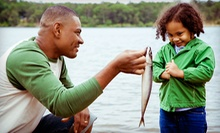 Fishing for Six or One-Year Membership for One, Two, or Four at Lake Lane Fishing and Hunting Getaway (Up to 87% Off)