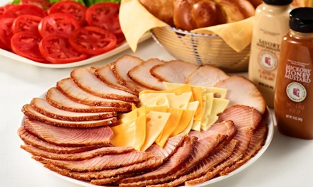 Boneless Half Ham or $50 for $100 Worth of Catering and Party Platters at HoneyBaked Ham