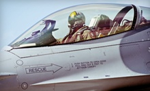 60-Minute F-35 or Boeing 737 Flight Simulator Experience for One or 60-Minute F-16 Air Combat for Two (Up to 51% Off)