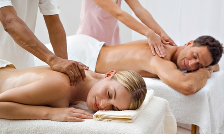 Couples Massage Package at Lotus Holistic Health Spa, Salon and Fitness Studio (46% Off)