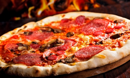 Italian Cuisine at The Fire Brick Oven Pizza & Bar (43% Off). Two Options Available.