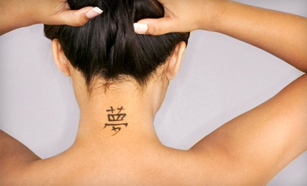Three Laser Tattoo-Removal Sessions on Area Up to 2 or 4 Sq. In. at Estetical Laser Hair Removal (Up to 89% Off)