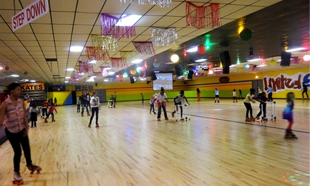 Skating Package for 2 or 4 at United Skates of America (Up to 48% Off)