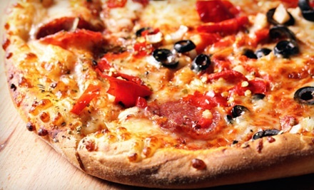 $25.50 for Three Groupons, Each Good for $15 Worth of Gourmet Pizza at Georgio's Pizza ($45 Total Value)