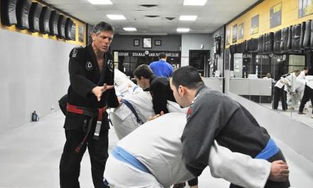 5 or 10 Drop-In Brazilian Jiu Jitsu Classes at Gracie Sports USA (Up to 51% Off)