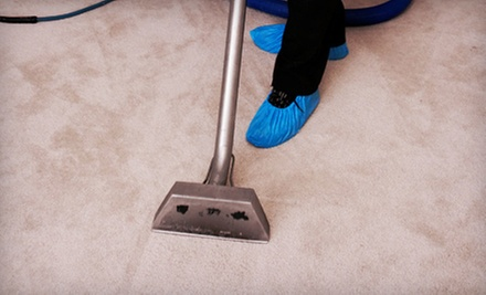 Steam Cleaning for Three or Five Carpeted Rooms or One Sofa or Love Seat from Delisle Extreme Steam (Up to 69% Off)