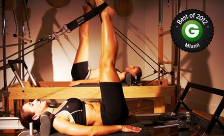 $90 for One Private Pilates Reformer Class and Five Pilates Mat Classes at 360 Energy in Motion ($180 Value)