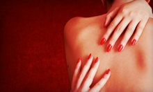 Shellac Manicure, Passion Manicure and Essential Pedicure, or a Massage and Facial at NailSpa Kangen (Up to 51% Off)