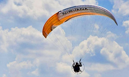 Tandem Paragliding Instructional Flight for One or Two at Austin Paramotor (Up to 54% Off)