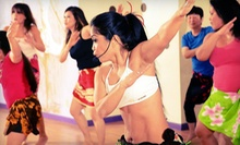 5 or 10 Classes at Hot Hula fitness with Marie (Up to 61% Off)