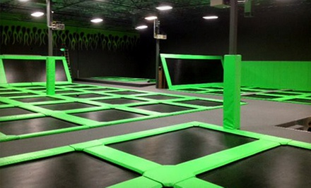 Two Hours of Trampoline Play Time for Two or Four at 2Xtreme Jump Arena (Up to 52% Off)