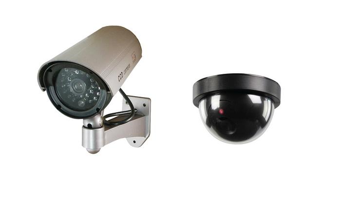 Groupon Goods Global GmbH: Finta telecamera di videosorveglianza indoor e outdoor a 12,99 €