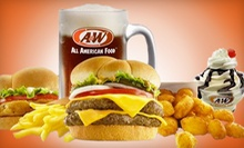 $5 for $10 Worth of American Fast Food at Stayton A&W