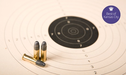 Gun-Range Outing or Beginner Experience for Two or Four at OMB Guns & Indoor Range (Up to 61% Off)