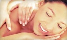 $49 for a 60-Minute Massage, Foot Scrub, Paraffin Dip, Sparkling Cider, and Chocolate at Array of Motion ($105 Value)