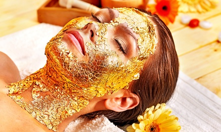 $129 for Golden Tropics Package with Gold Collagen Mask and Foot Scrub at Ku'uleilani Day Spa ($260 Value)