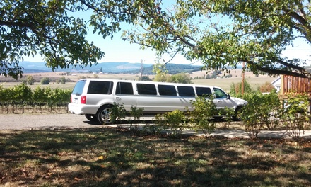 $49 for One Five-Hour Limo or Party Bus Tour with Wine-Tasting from Rip City Limos ($100 Value)