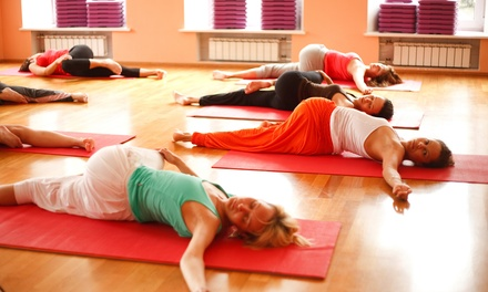 $49 for One Month of Unlimited Classes at The Melting Spot ($138 Value)