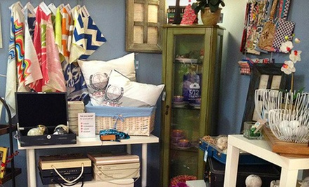 $18 for $35 Worth of Home Accessories at 5/12 Studio