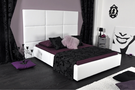 lit roma avec sommier et matelas groupon shopping. Black Bedroom Furniture Sets. Home Design Ideas