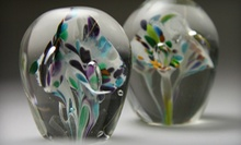 $69 for a Flower-Paperweight Glass-Blowing Workshop at Flo Glassblowing ($124.30 Value)