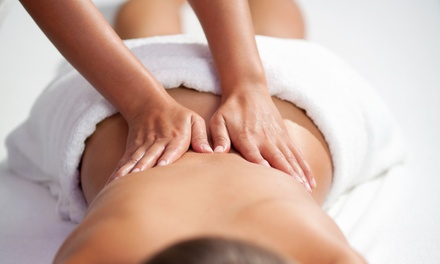 Spinal Decompression or Massage Packages at InTouch Wellness Center (Up to 90% Off). Four Options Available.
