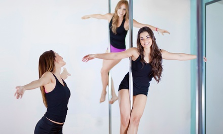 $49 for Five Pole-Dance Fitness Classes at Rock N Body Pole & Exotic Dance Studio ($115 Value)