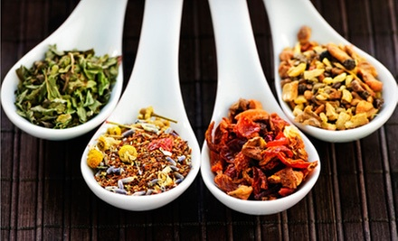 $7.50 for $15 Worth of Medicinal and International Loose-Leaf Tea Blends at CaryTown Teas
