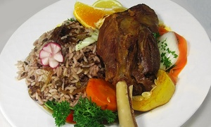 Mediterranean Buffet For Two Or Four At Dimassi