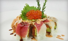 $20 for $40 Worth of Sushi and Asian Fare at Reiki Sushi & Asian Bistro