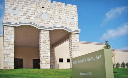 Museum of Biblical Art Visit for Two, Four, or Six (Up to Half Off)