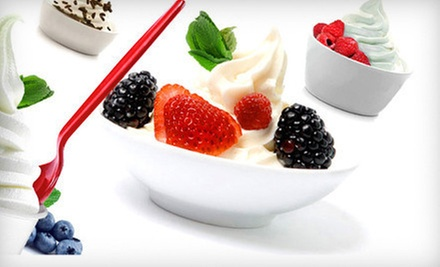 $10 for a $20 Gift Card for Frozen Yogurt at Chill Bubble Tea