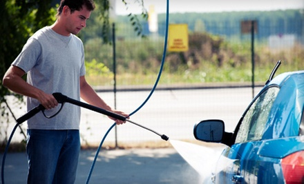 Up to 6 or 10 Exterior Car Washes at Mr. Brightside Auto Wash (Up to 60% Off)
