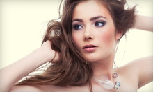 Women's Cut and Style with Deep-Conditioning Treatment or Partial Highlights at Lady Luxe Hair Saloon (Up to 57% Off)