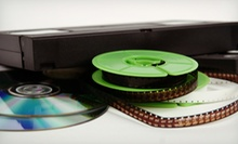 Photo and Video Digitization Services with Online Access from Reel-to-Reel Video (Up to 51% Off). Two Options Available.