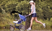 10 Stroller Strides Classes or One-Month of Unlimited Stroller Strides Classes from Fit4Mom Richmond (Up to 55% Off)