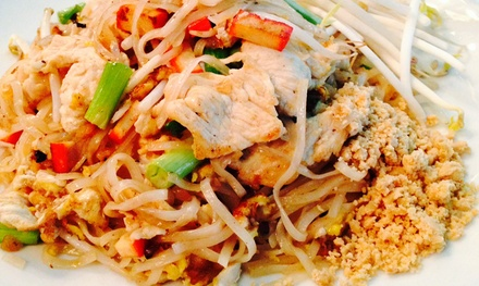 $13 for $25 Worth of Thai Food and Drinks for Two at Tara Thai