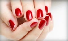One or Two Gelish Manicures at Nails By Anna (Up to 56% Off)
