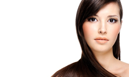 Brazilian Blowout with Optional Haircut at M Salon (Up to 67% Off)