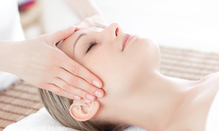 60-Minute Massage with Optional Deluxe S.P.A. Facial at Nails 2 Go Go (Up to 50% Off)