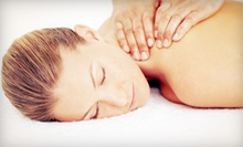 Massage and Optional Facial or Couples Package with Champagne at Enliven Body Work (Up to 68% Off)