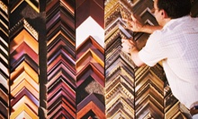 $55 for $100 Worth of Custom Framing at Foursided's Lakeview Location