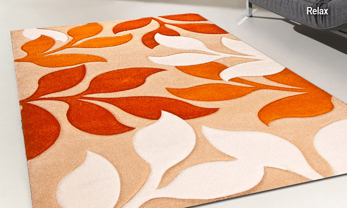 Special tapis deal du jour groupon for Tapis de cuisine orange
