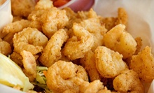 $15 for $30 Worth of Seafood, Burgers, and Hot Dogs at Elm City Seafood & Grill Restaurant