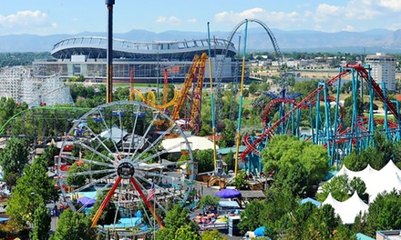 Two or Four Single-Day Tickets Plus Parking or Season Pass at Elitch Gardens (Up to 27% Off)