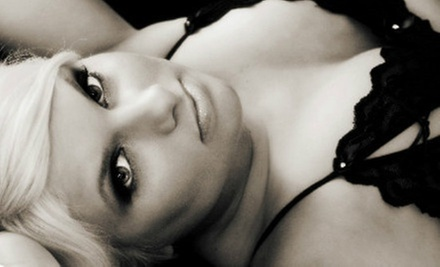 $69 for a Boudoir Photo-Shoot Package with Three Digital Images at Custom Creations Photography ($275 Value)
