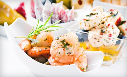 $10 for $20 Worth of Tapas at Chez Vin Wine Lounge