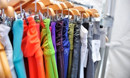 $25 for $50 Worth of Clothing at South Granville LOTUSACTIVA. Two Options Available.