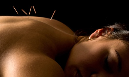One or Three Acupuncture Sessions at The Lotus Acupuncture & Wellness Center (Up to 72% Off)